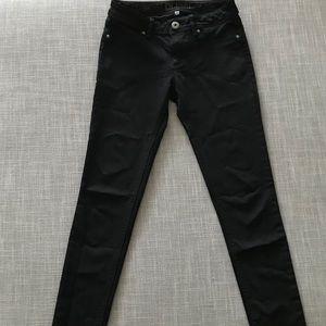 DL1961 Black Skinny Jeans - Emma Legging